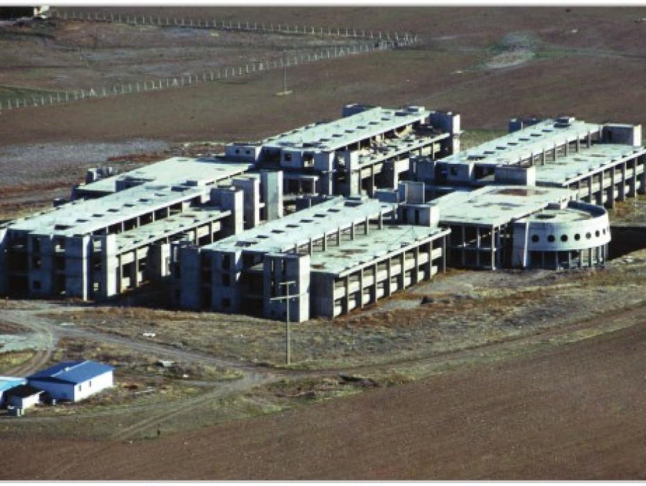 Ankara Üniversitesi 50. Yıl Yerleşkesi İletişim Fakültesi İnşaatı - Ankara